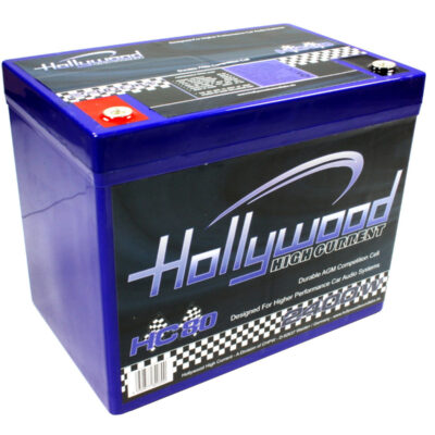 Hollywood HC 80 AGM Batterie